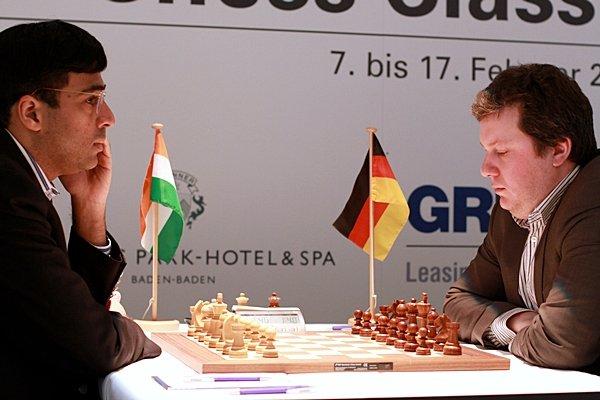 Baden Baden 2013 Round 5 Vishy Anand Arkadij Naiditsch