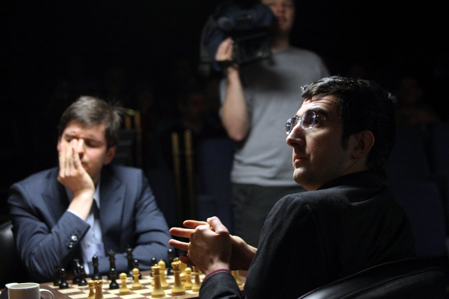 Kramnik vs Svidler, London 2013