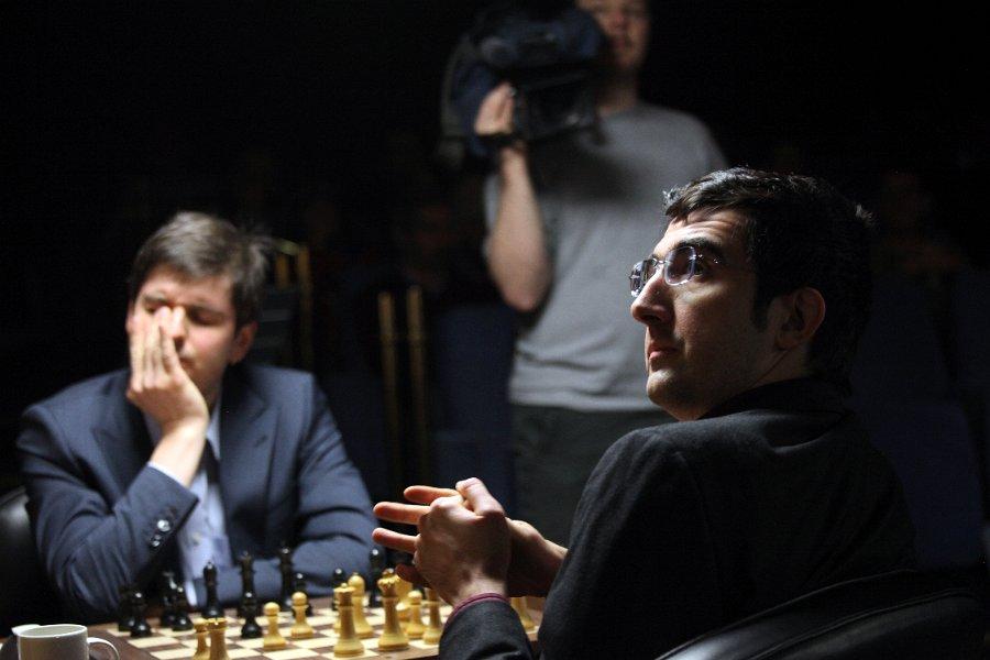 Kramnik vs Svidler, London 2013