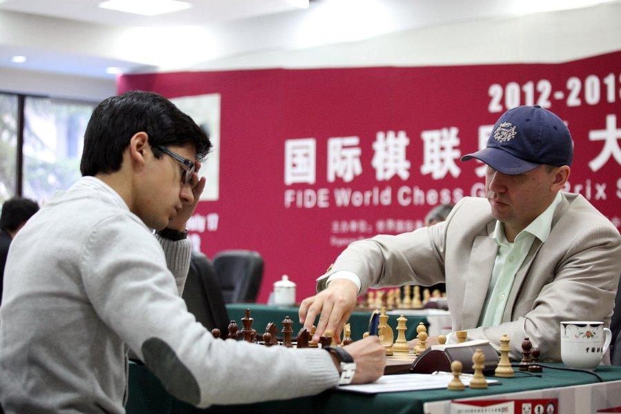 Gata Kamsky vs. Anish Giri, FIDE Grand Prix - Beijing 2013