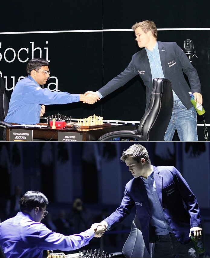 Anand - Carlsen, Sochi 2014, 9th and 10th game