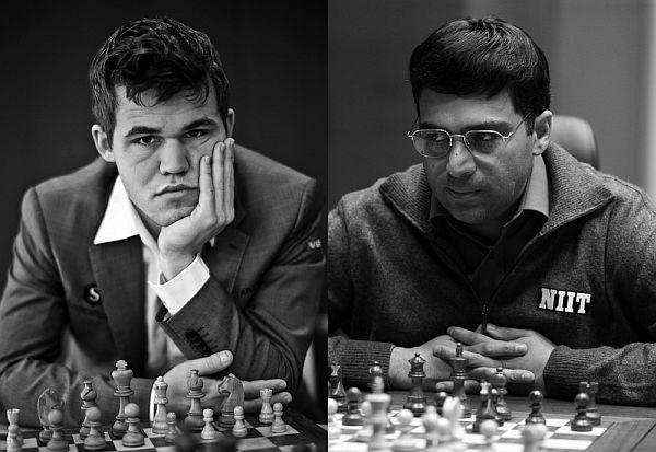 Carlsen - Anand 2014sm