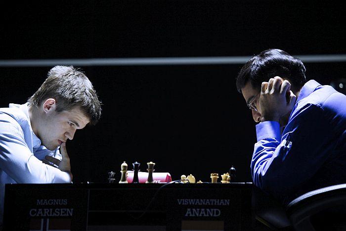 Carlsen vs. Anand - Sochi 2014.